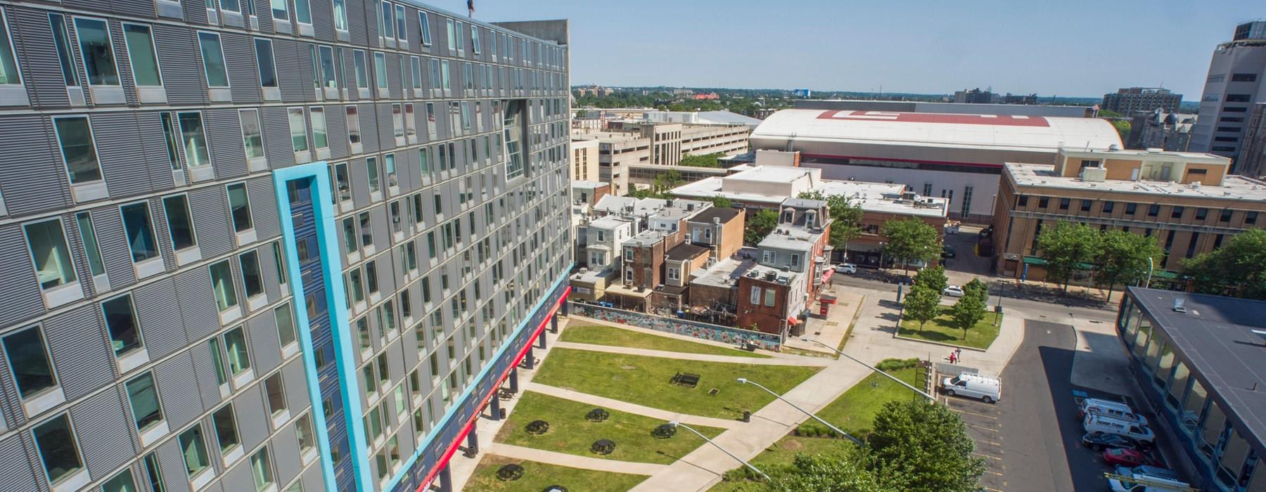 The Edge Student Village exterior